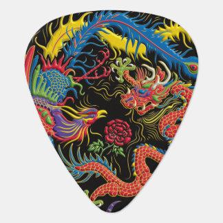 Yin Yang Phoenix et onglet de guitare de dragon