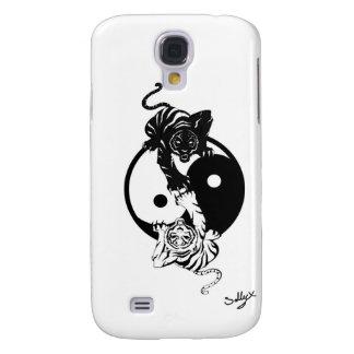 Ying yang tiger coque galaxy s4