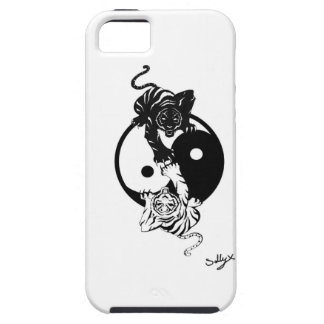 Ying yang tiger coques iPhone 5 Case-Mate