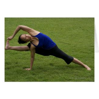 Yoga d'Asana Carte De Vœux