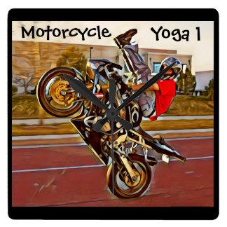 Yoga de moto 1 horloge