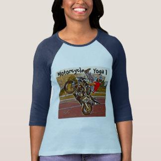 Yoga de moto 3/4 T-shirt de douille