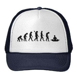 Yoga d'évolution casquette