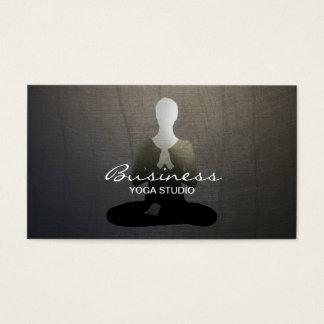Yoga et arrière - plan Méditation-Élégant de zen Cartes De Visite