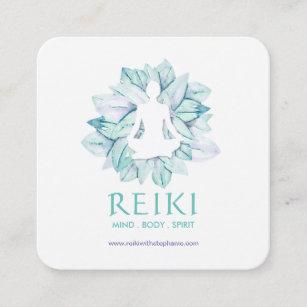 Yoga Et Cartes De Visite Reiki