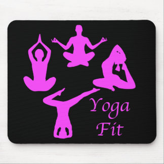 Yoga Mousepad convenable Tapis De Souris