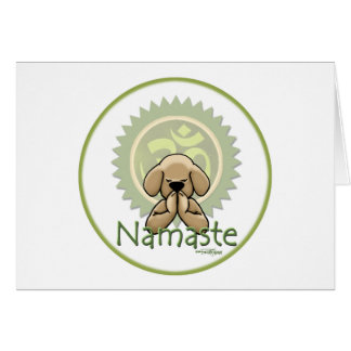 Yoga - Namaste Carte De Vœux