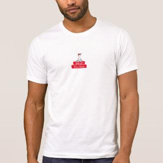 Yoga pour le T-shirt deux de Winelovers