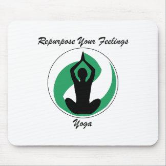 Yoga RepurposeFeelings Tapis De Souris