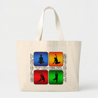 Yoga spectaculaire grand tote bag