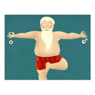 Yogi Père Noël - carte postale de Noël