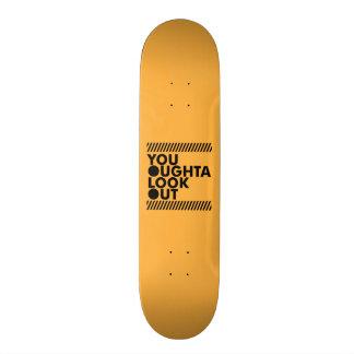 YOLO avec prudence Skateboard Customisable