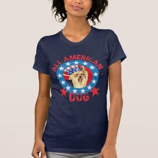 Yorkie patriotique t-shirt