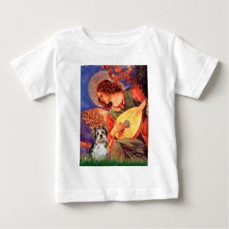 Yorkshire Terrier (Biewer) - ange de mandoline T-shirt Pour Bébé