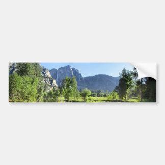 Yosemite Falls de rivière de Merced - vallée de Autocollant De Voiture
