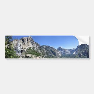 Yosemite Falls et demi de dôme oh de mon ça alors Autocollant De Voiture