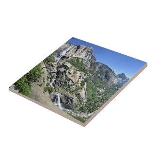 Yosemite Falls et demi de dôme oh de mon ça alors Petit Carreau Carré