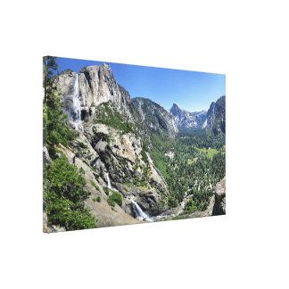 Yosemite Falls et demi de dôme oh de mon ça alors Toile