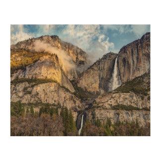 Yosemite Falls pittoresque, la Californie Impression Sur Bois
