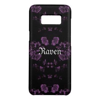 *Your éternel gothique Name* Lavendar Coque Case-Mate Samsung Galaxy S8