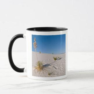 Yucca de Soaptree, longue ombre, dunes Mug