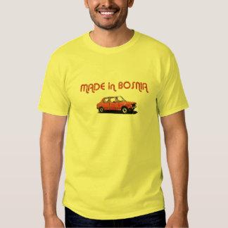 Yugo a fait en Bosnie T-shirts