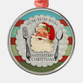 Yum yum yum ornement de Noël de cuillère de