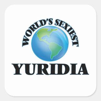 Yuridia le plus sexy du monde stickers carrés