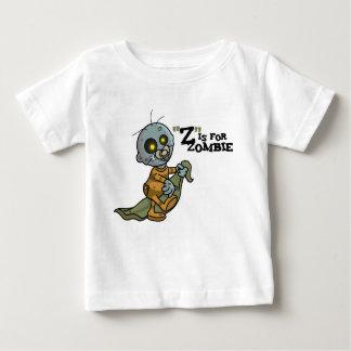 """""""Z"""" est pour le T-shirt infantile de zombi"""