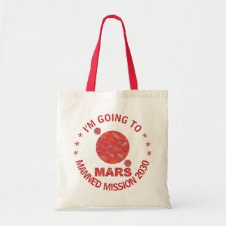 Z Mars l'amusement rouge de système solaire de Sac En Toile