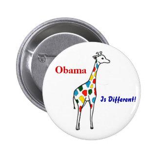 Z Obama, est différent ! Bouton Badge