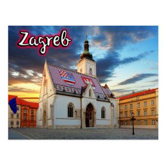 Zagreb Carte Postale