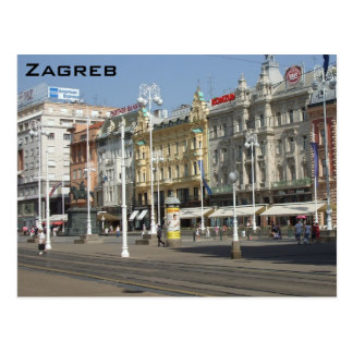 Zagreb Cartes Postales