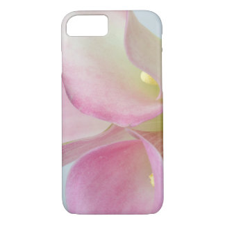 Zantedeschias roses coque iPhone 7