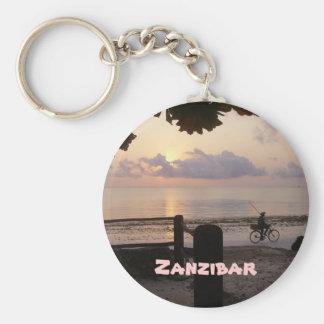 Zanzibar Porte-clé Rond