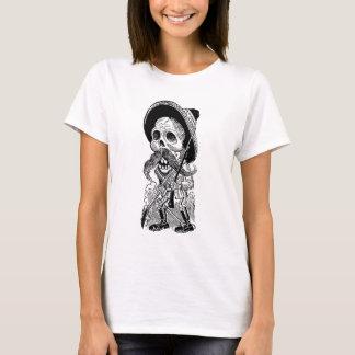 Zapatista Calavera. c. 1900's tôt. Le Mexique T-shirt