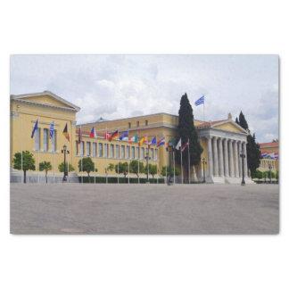 Zappeion - Athènes Papier Mousseline