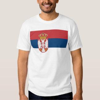 Zastava Srbije, drapeau serbe T-shirts