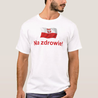 Zdrowie polonais de Na T-shirt