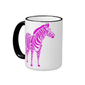 zebra le zoo touche animal à l'Afrique enfant kind Mugs À Café