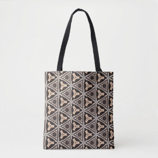Zebra_triangular Tote Bag