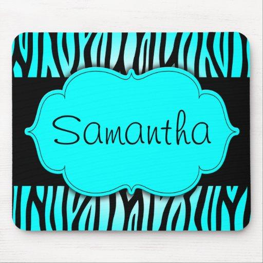 Z bre bleu et noir turquoise personnalis tapis de souris for Tapis noir et bleu turquoise