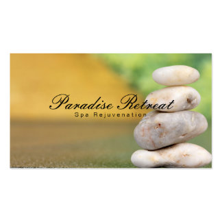 Zen de la retraite | de spa carte de visite standard
