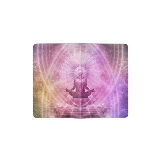 Zen spirituel de méditation de yoga coloré carnet moleskine de poche
