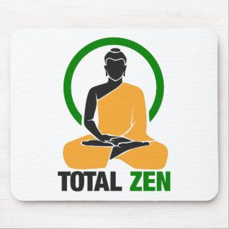 Zen total - paix, tranquilité, relaxation tapis de souris