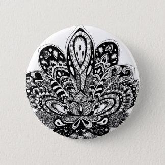 Zendoodle détaillé Lotus Pin's