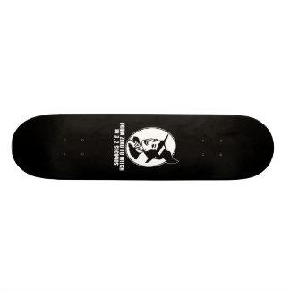 Zéro au style des années 50 de sorcière (B&W) Skateoard Personnalisé