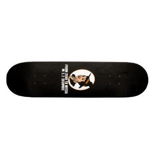 Zéro au style des années 50 de sorcière couleur skateboards personnalisés