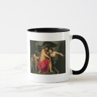 Zeus et Hera sur le bâti IDA, 1775 Tasses