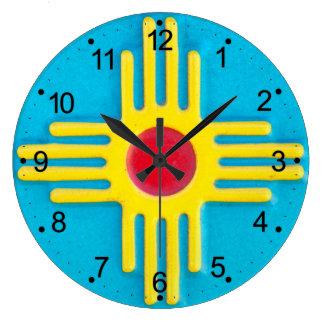 Zia Sun Grande Horloge Ronde
